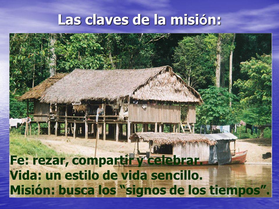 Las claves de la misión: