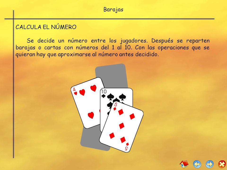 Barajas CALCULA EL NÚMERO.