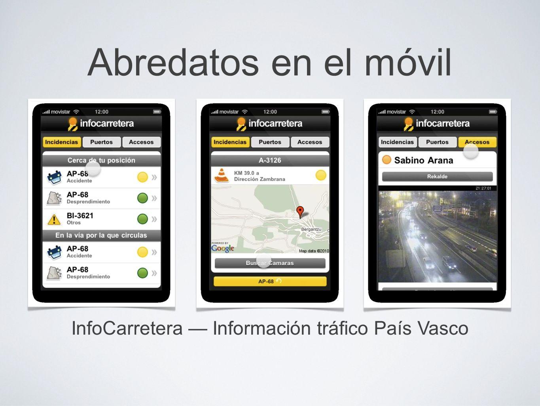 InfoCarretera — Información tráfico País Vasco