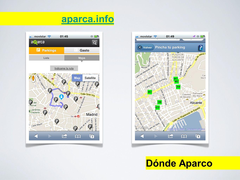 aparca.info Dónde Aparco