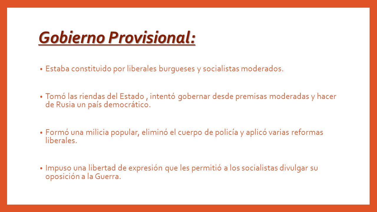 Gobierno Provisional: