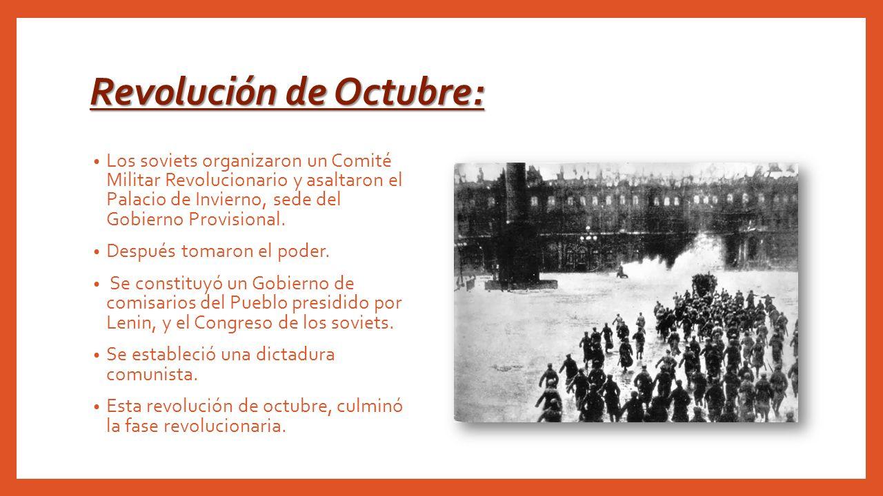 Revolución de Octubre: