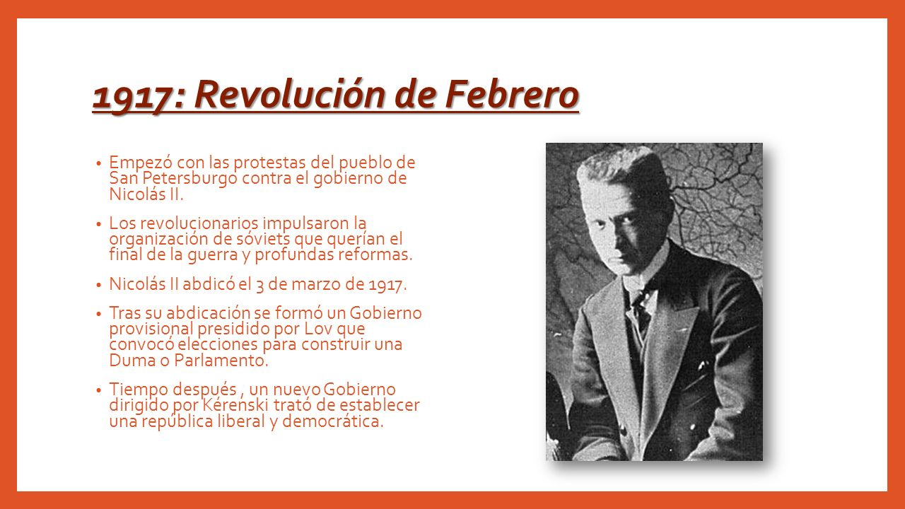 1917: Revolución de Febrero