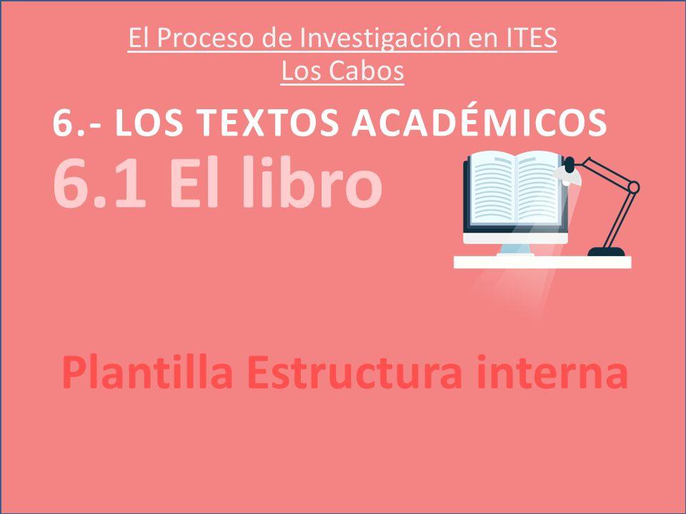 El Proceso de Investigación en ITES Los Cabos - ppt descargar