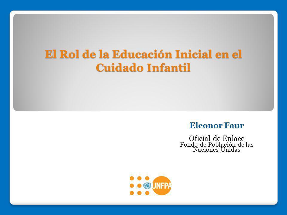 El Rol de la Educación Inicial en el Cuidado Infantil