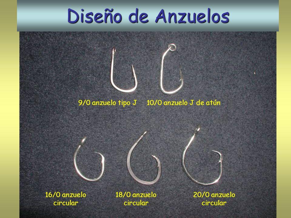 Diseño de Anzuelos 9/0 anzuelo tipo J 10/0 anzuelo J de atún