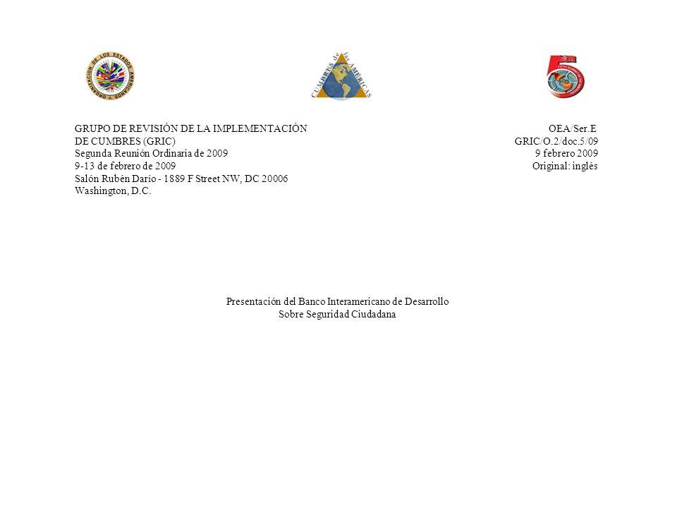 GRUPO DE REVISIÓN DE LA IMPLEMENTACIÓN OEA/Ser.E