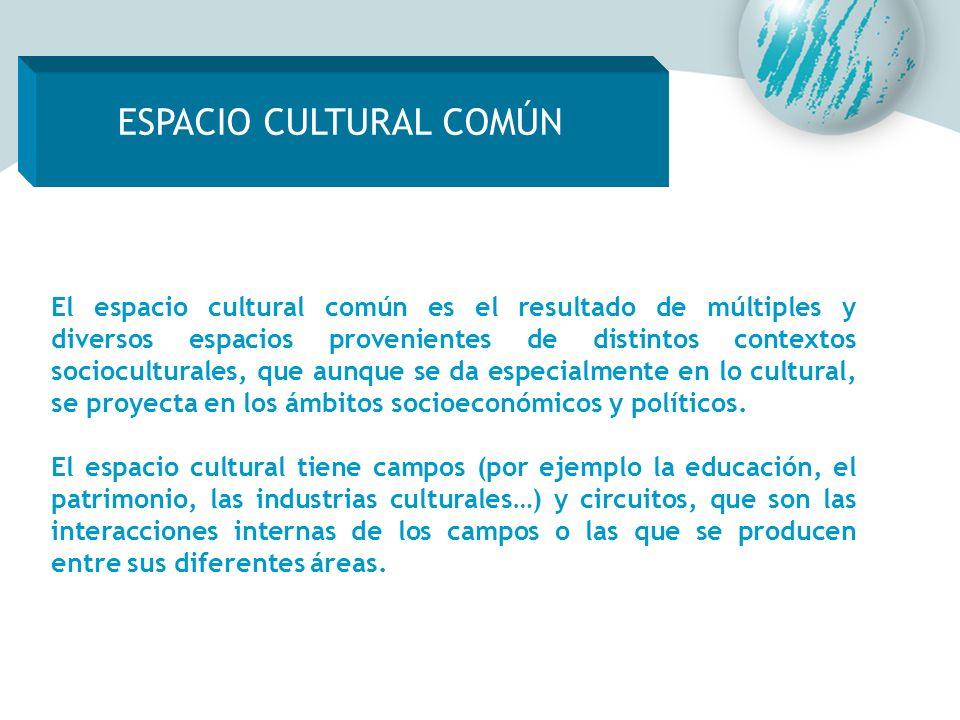ESPACIO CULTURAL COMÚN ESPACIO CULTURAL COMÚN
