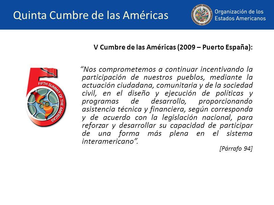 Quinta Cumbre de las Américas