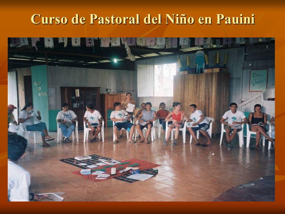 Curso de Pastoral del Niño en Pauini