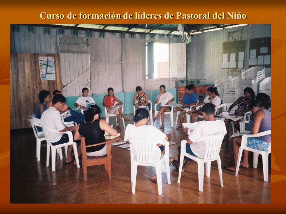 Curso de formación de líderes de Pastoral del Niño