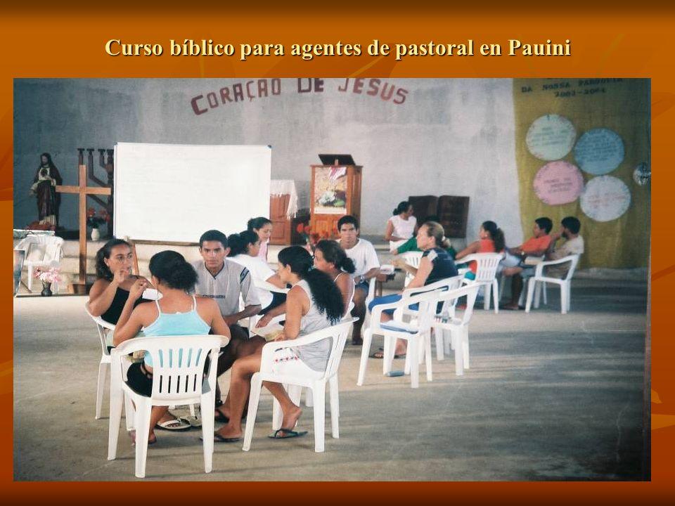 Curso bíblico para agentes de pastoral en Pauini
