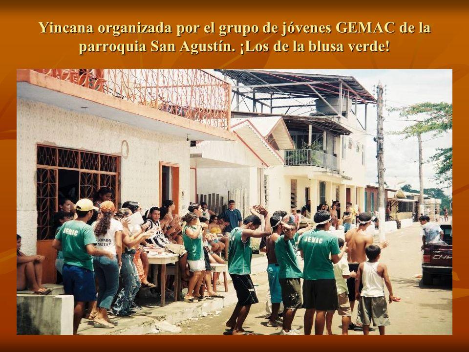 Yincana organizada por el grupo de jóvenes GEMAC de la parroquia San Agustín.