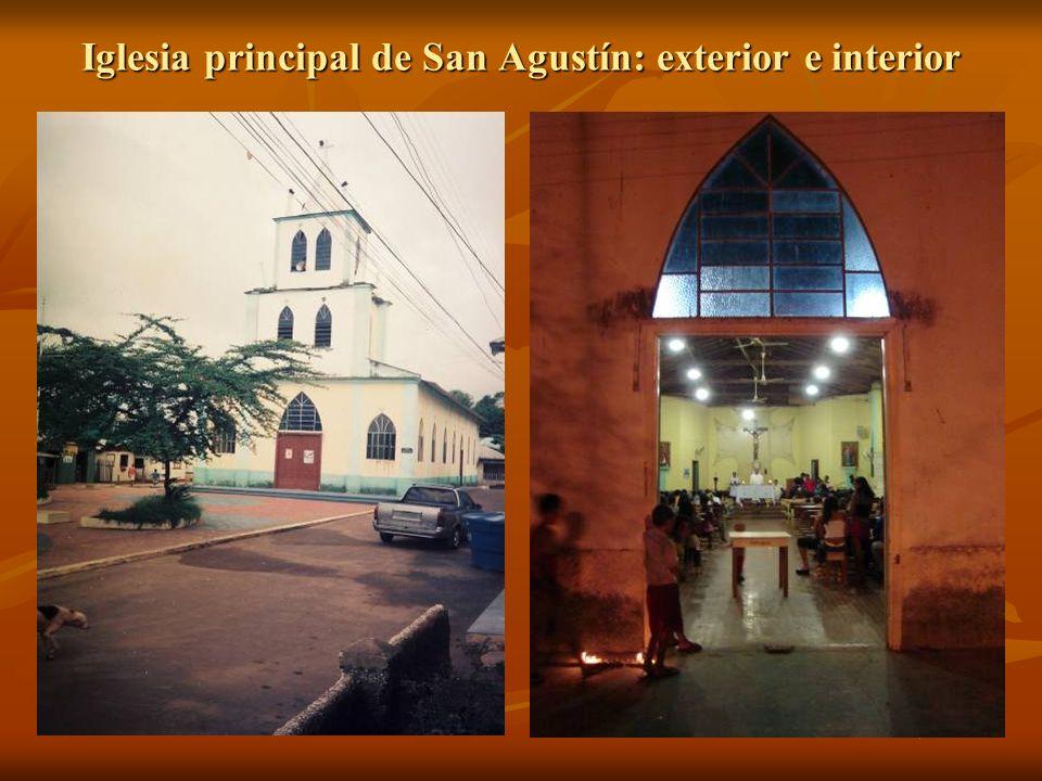 Iglesia principal de San Agustín: exterior e interior