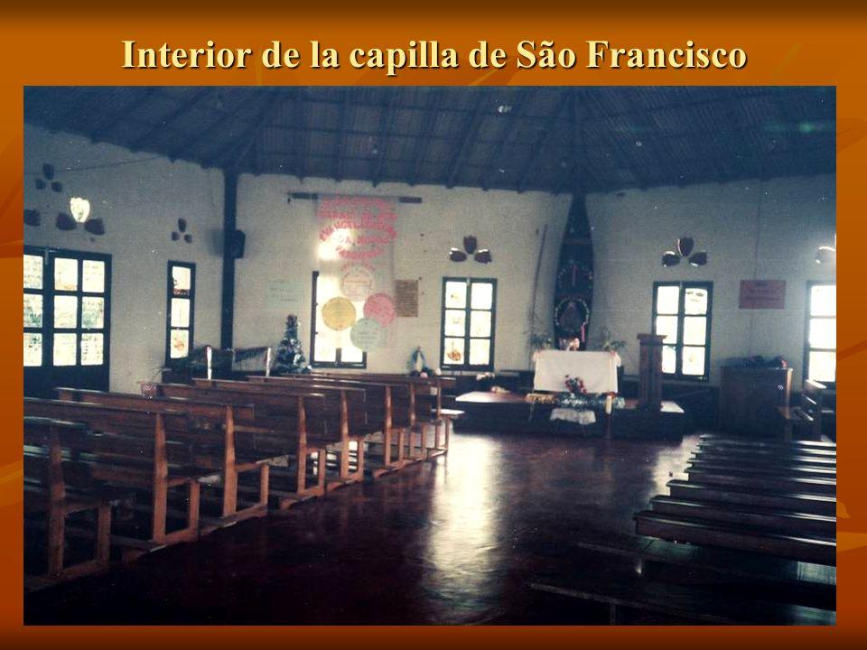 Interior de la capilla de São Francisco