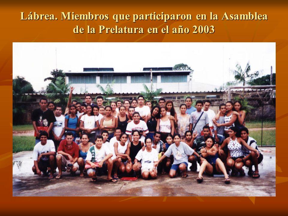 Lábrea. Miembros que participaron en la Asamblea de la Prelatura en el año 2003