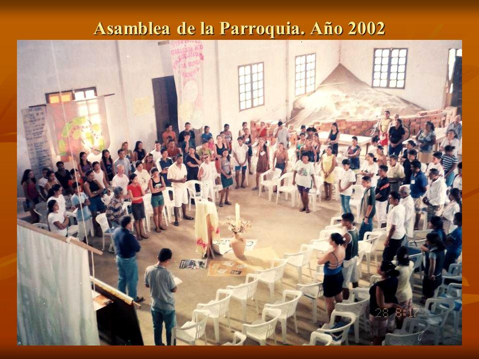 Asamblea de la Parroquia. Año 2002