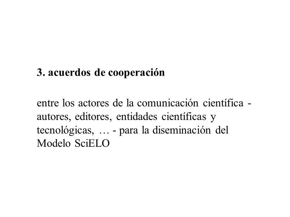 3. acuerdos de cooperación