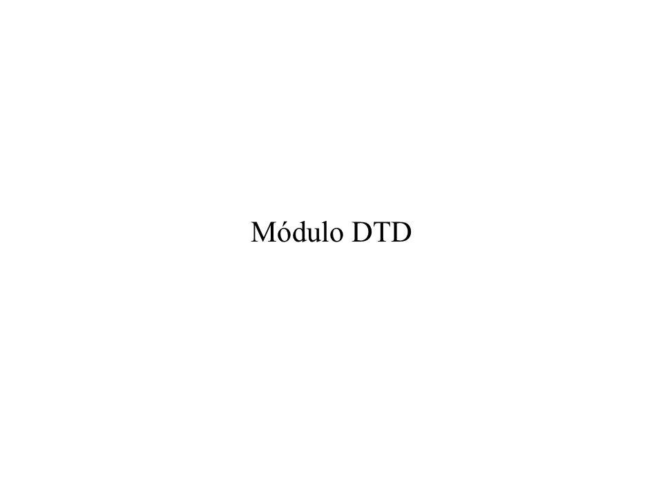 Módulo DTD