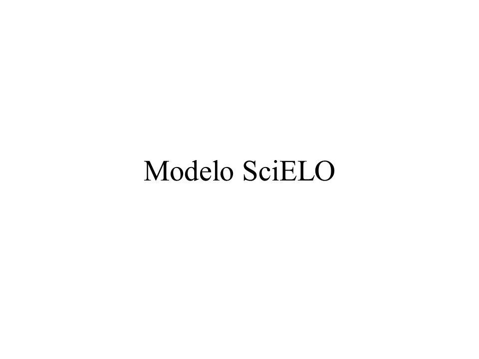 Modelo SciELO