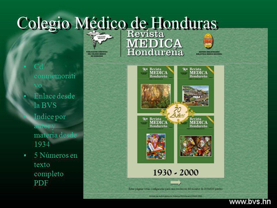 Colegio Médico de Honduras
