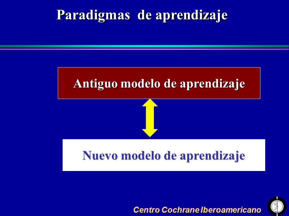 Paradigmas de aprendizaje