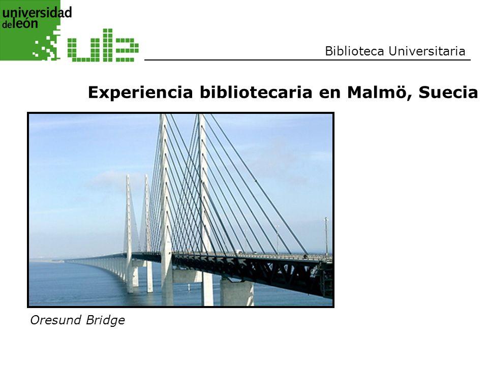 Experiencia bibliotecaria en Malmö, Suecia