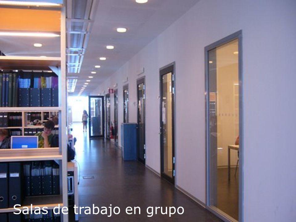 Salas de trabajo en grupo