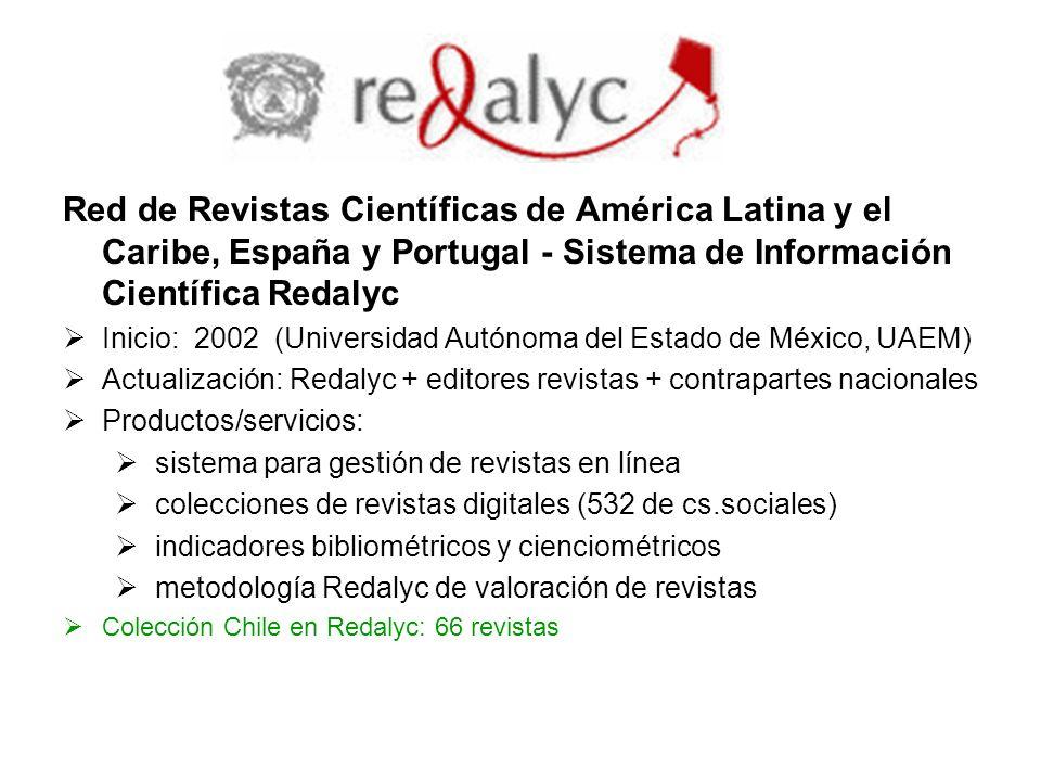 Red de Revistas Científicas de América Latina y el Caribe, España y Portugal - Sistema de Información Científica Redalyc
