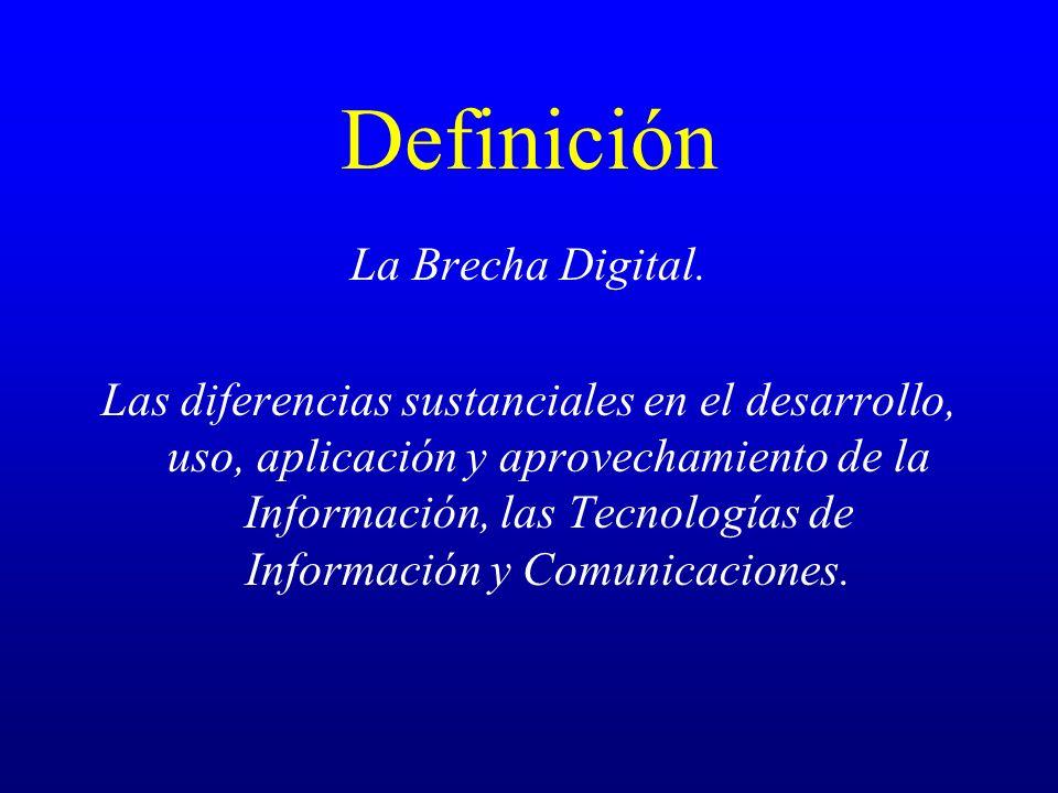 Definición La Brecha Digital.