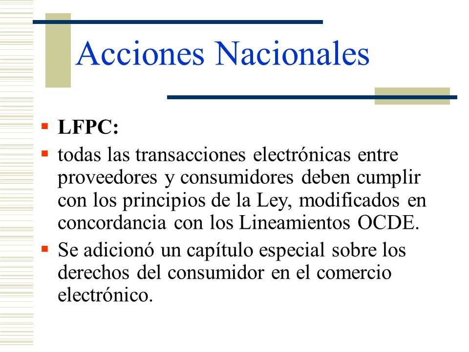 Acciones Nacionales LFPC: