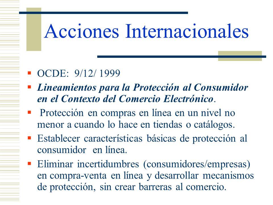 Acciones Internacionales