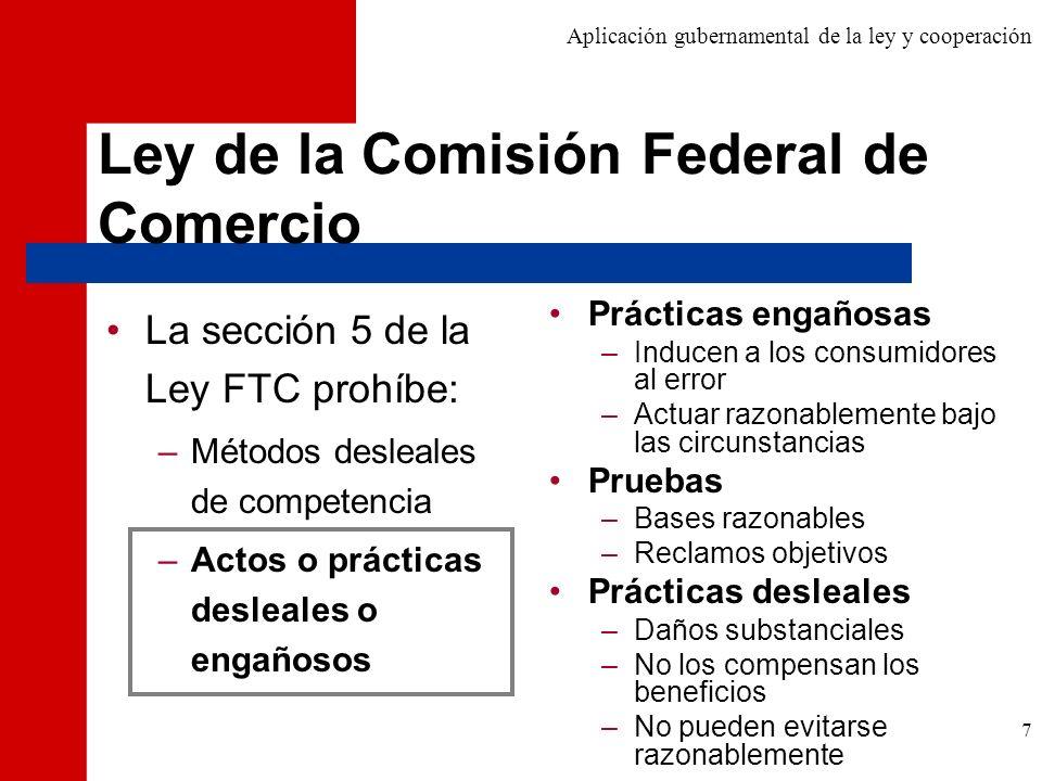 Ley de la Comisión Federal de Comercio