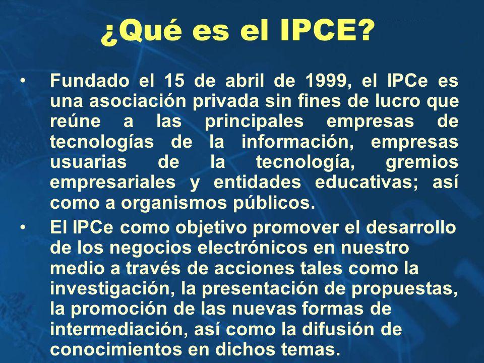 ¿Qué es el IPCE