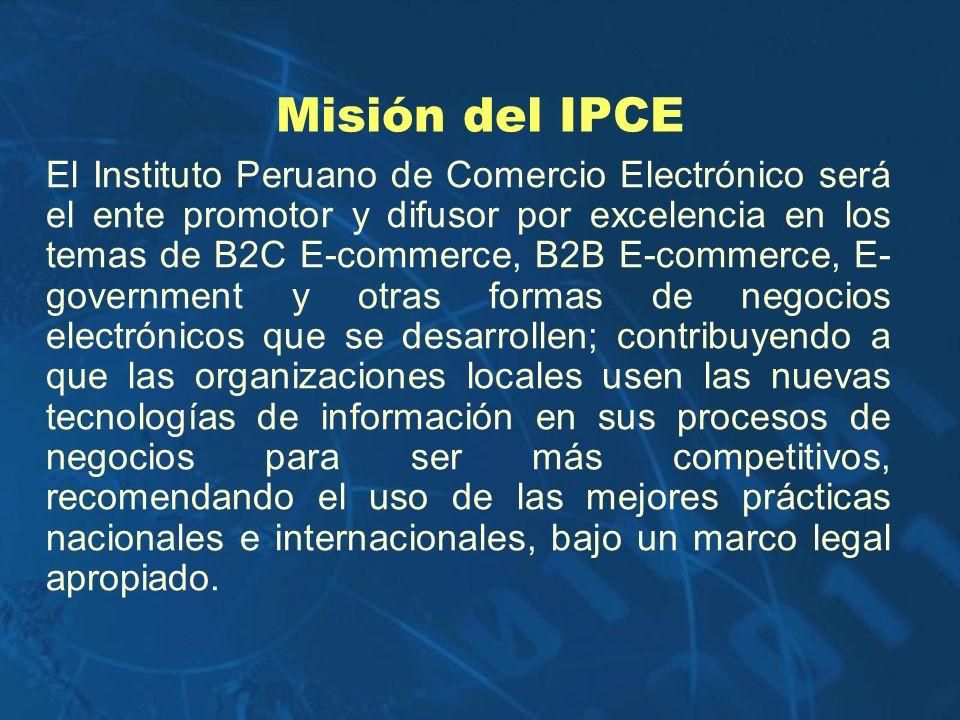Misión del IPCE