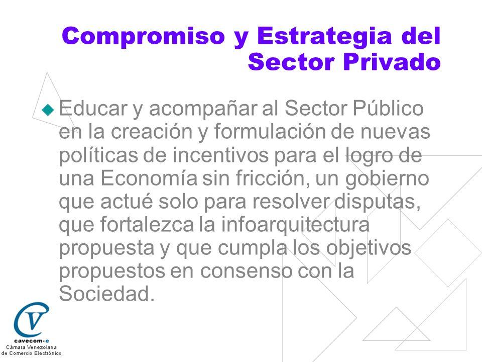 Compromiso y Estrategia del Sector Privado