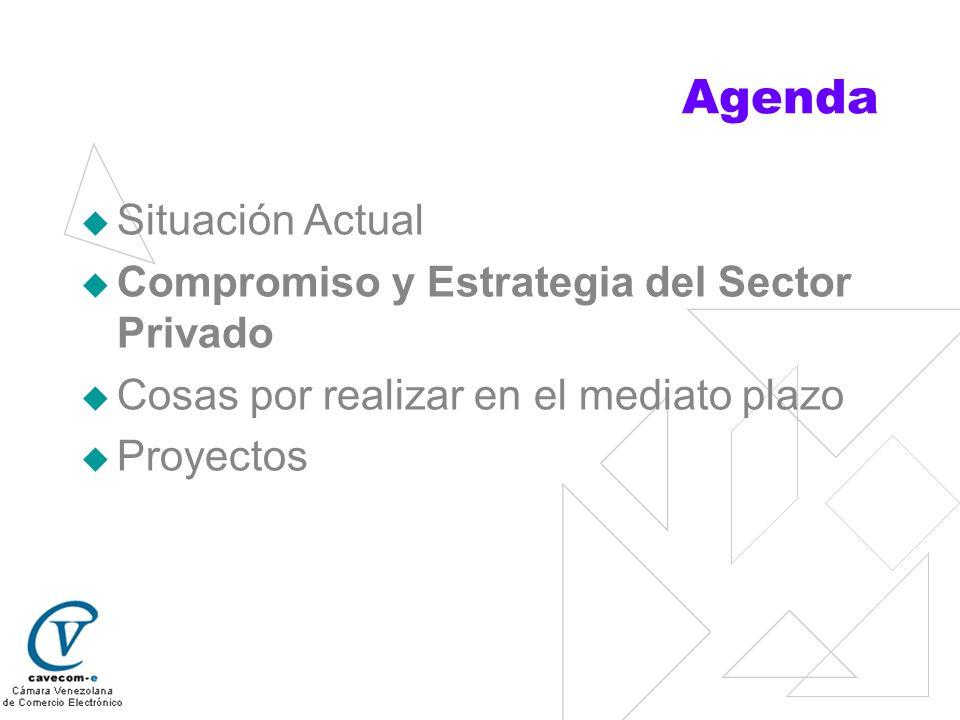 Agenda Situación Actual Compromiso y Estrategia del Sector Privado