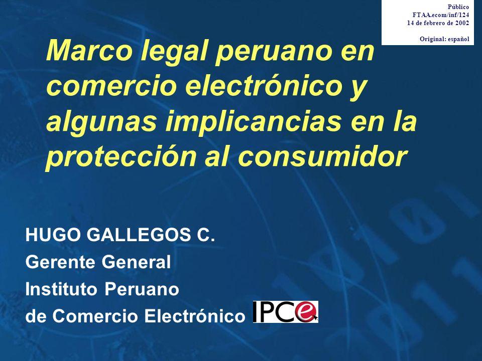 Público FTAA.ecom/inf/124. 14 de febrero de 2002. Original: español.