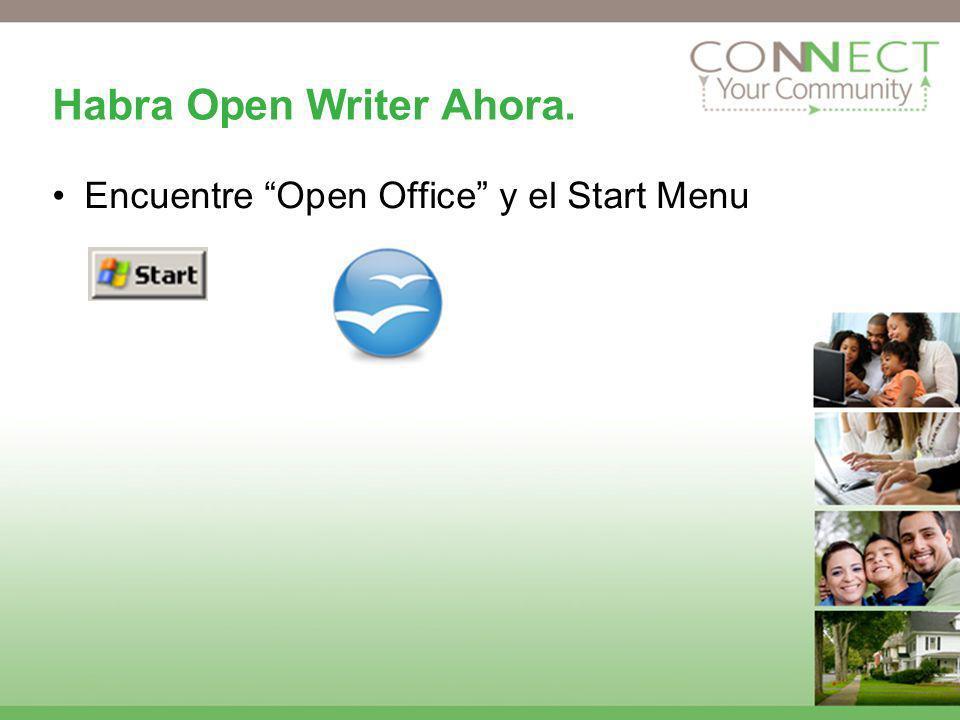 Habra Open Writer Ahora.