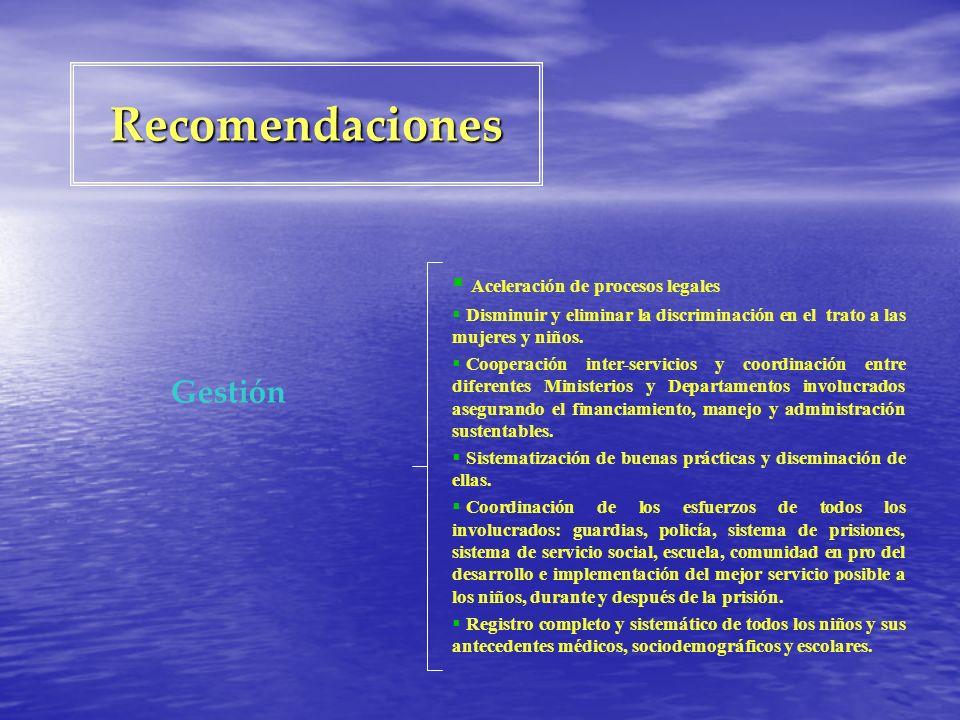 Recomendaciones Gestión Aceleración de procesos legales