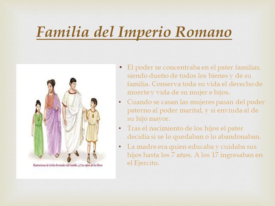 Familia del Imperio Romano