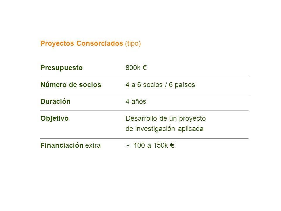 Proyectos Consorciados (tipo)