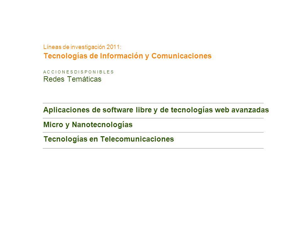 Aplicaciones de software libre y de tecnologías web avanzadas