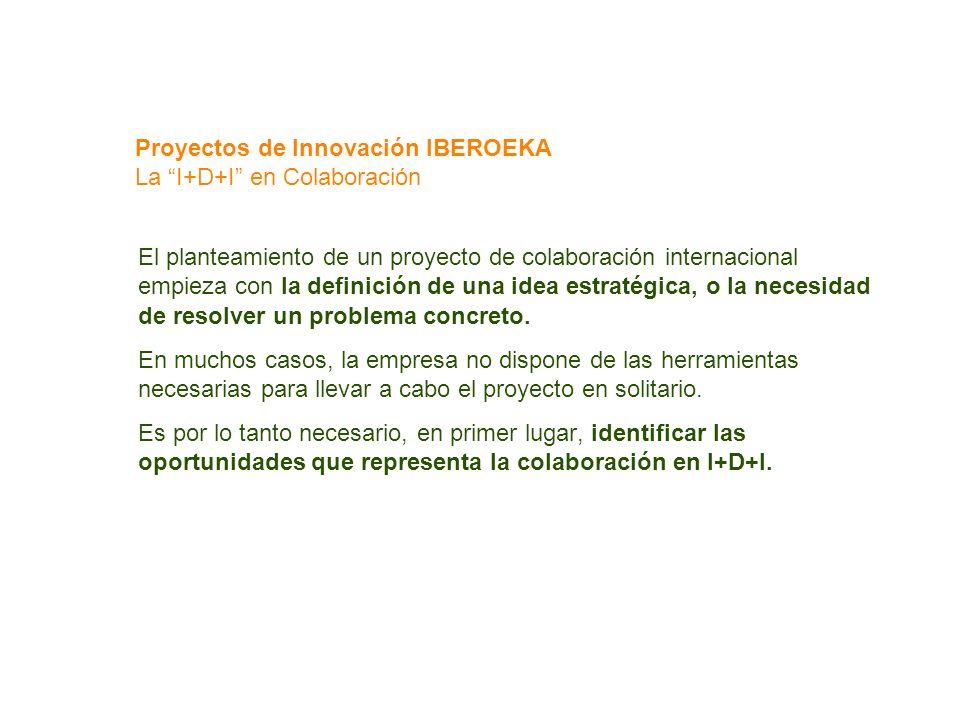 Proyectos de Innovación IBEROEKA La I+D+I en Colaboración