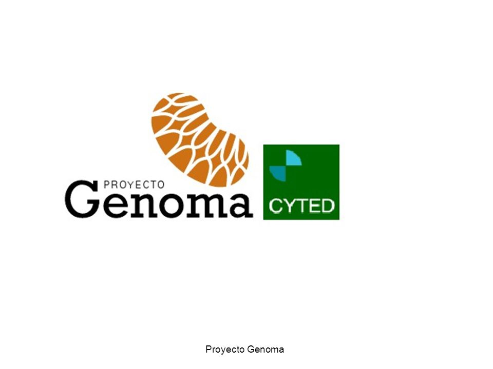 Genoma - CYTED Proyecto Genoma
