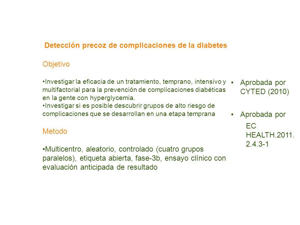 Detección precoz de complicaciones de la diabetes