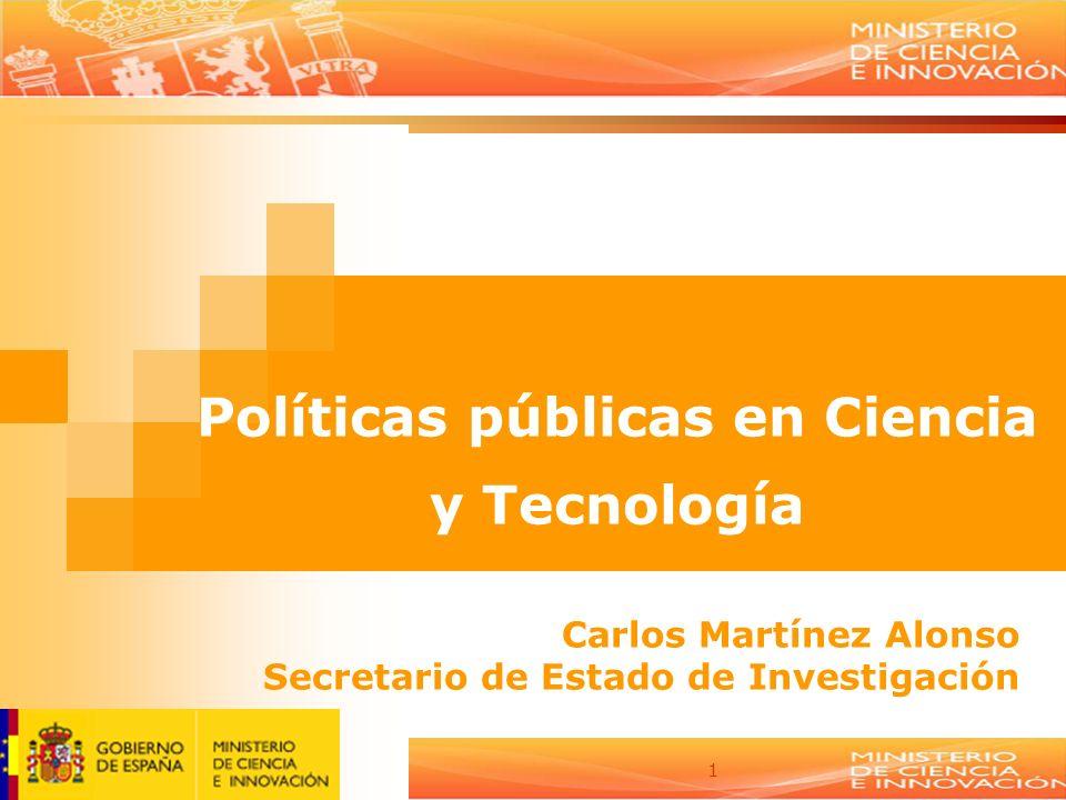 Políticas públicas en Ciencia