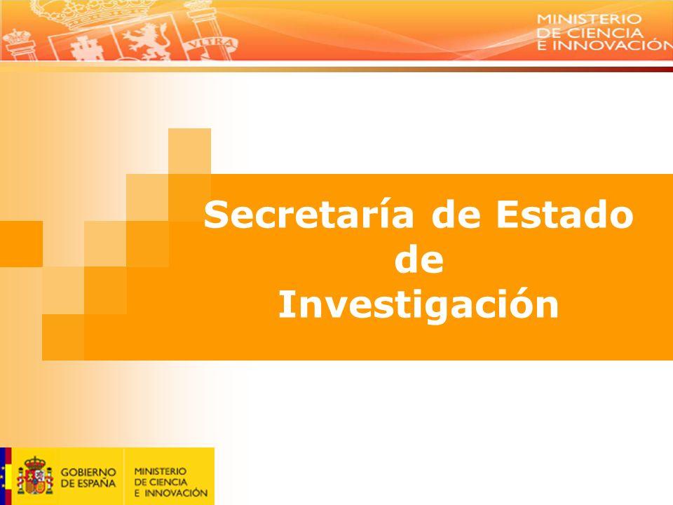 Secretaría de Estado de Investigación