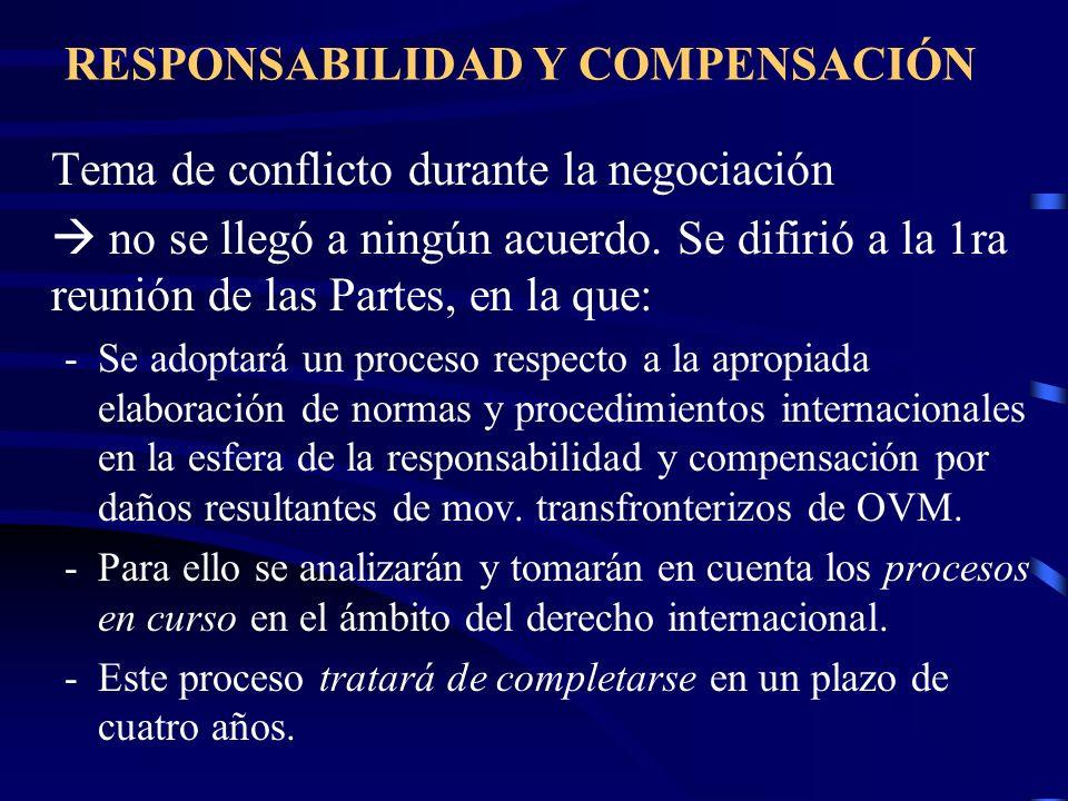 RESPONSABILIDAD Y COMPENSACIÓN