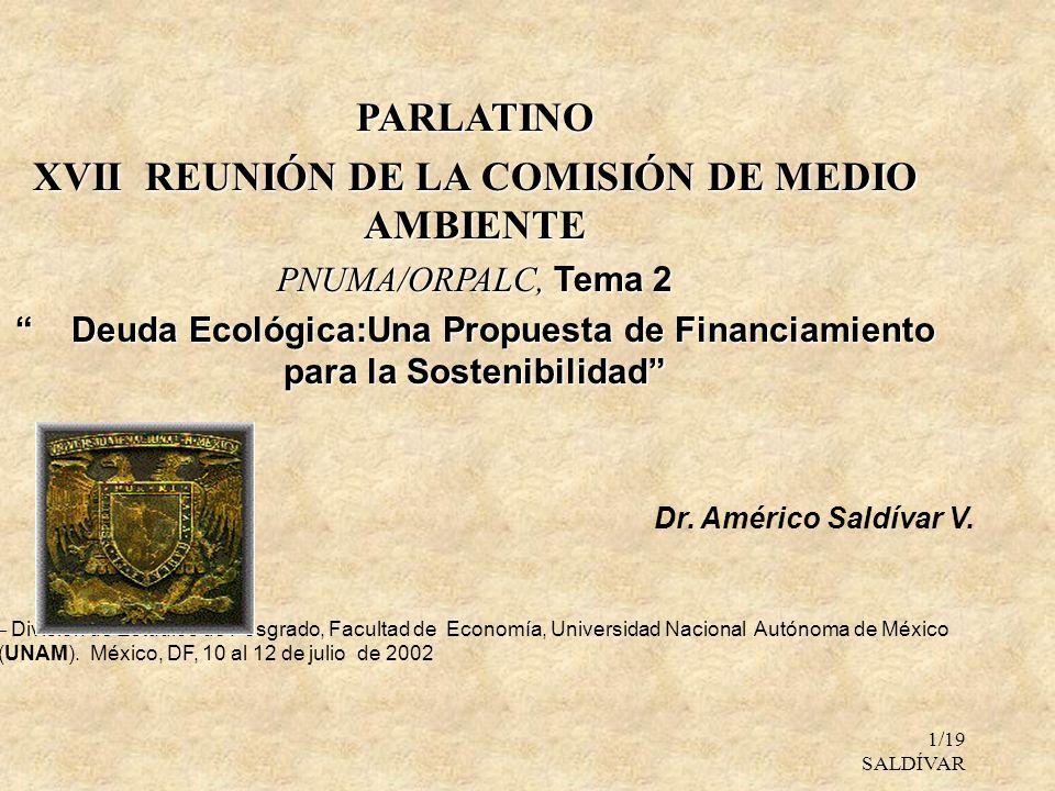 XVII REUNIÓN DE LA COMISIÓN DE MEDIO AMBIENTE